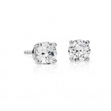 1 1/2 Carat Diamond Stud Earrings