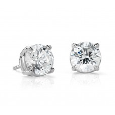 4 Carat Diamond Stud Earrings